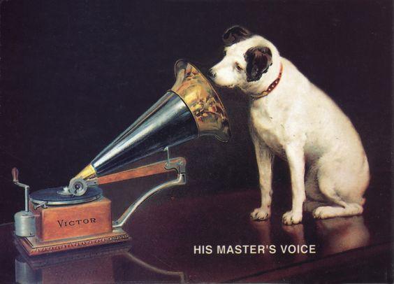 Name Dog Rca Grammaphone