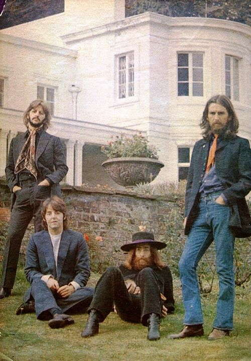 The Beatles' final photography session, Tittenhurst Park, 22 August 1969....all I have to say is look at Ringo:
