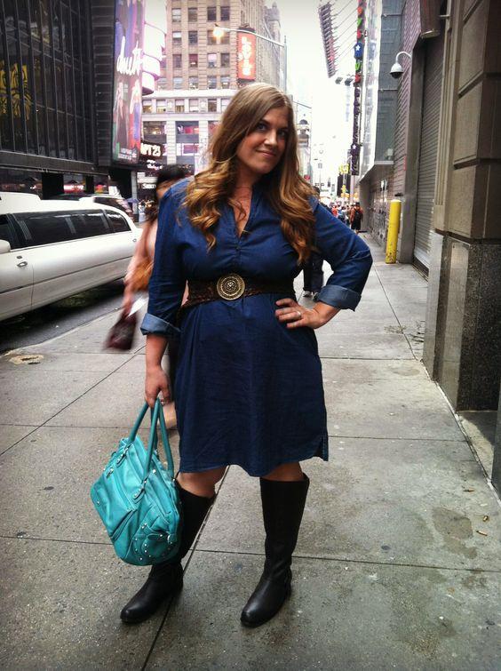 dresses with boots   Dress: 1969 Dark Denim Shirt Dress, size XL. Gap (on clearance in ...