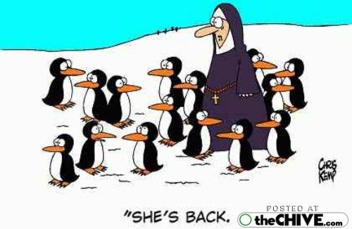 People call us penguins sometimes.