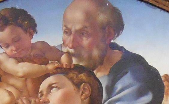 Michelangelo: Tondo Doni. Firenze, Uffizi. 1506. #Uffizi
