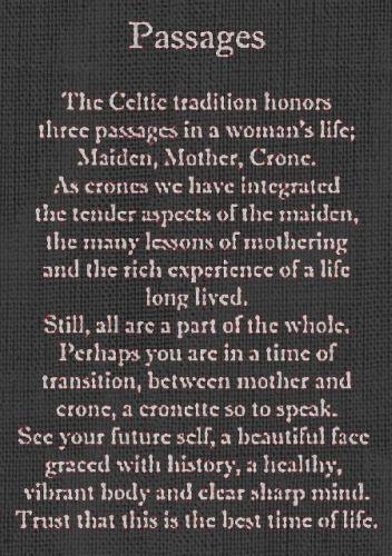 Mother, Maiden, Crone: