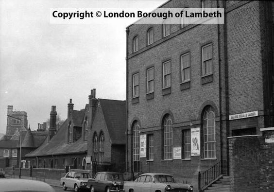 Lambeth Road,  1968 showing St Mary's Infant School