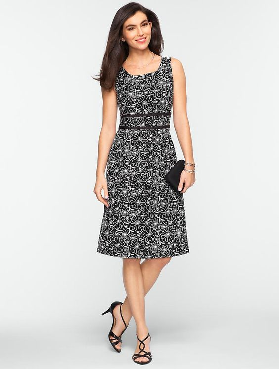 Talbots: Embroidered Daisy Dress- $229 (pricey). I need another ...