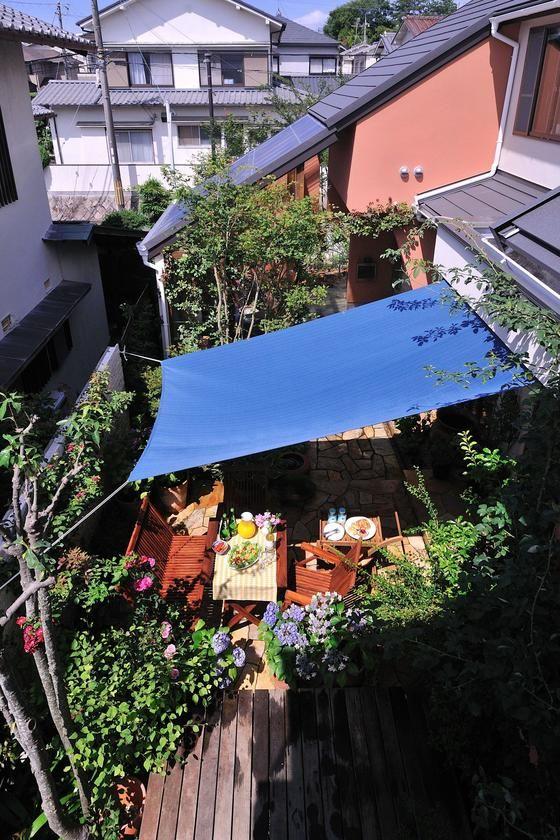 僕のおススメのガーデングッズ ガーデン タープ ガーデン パラソル