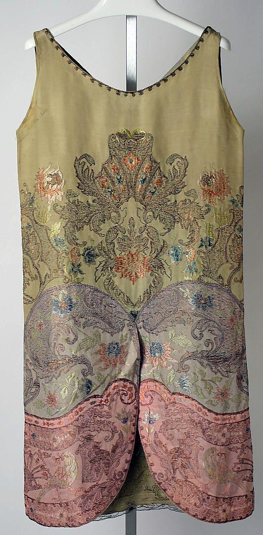 Dress, Evening  Callot Soeurs , 1926-27