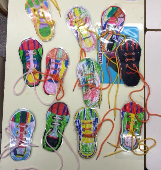 Aprenem a cordar sabates!