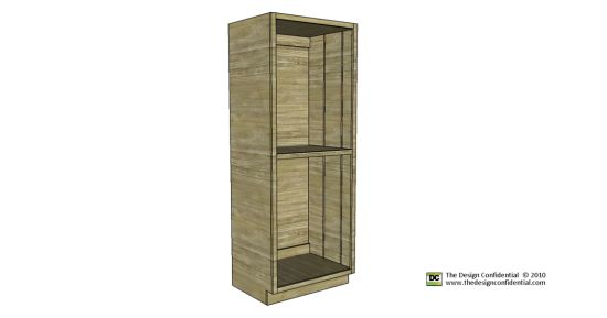 plans to build the easiest pantry cabinet ever the design