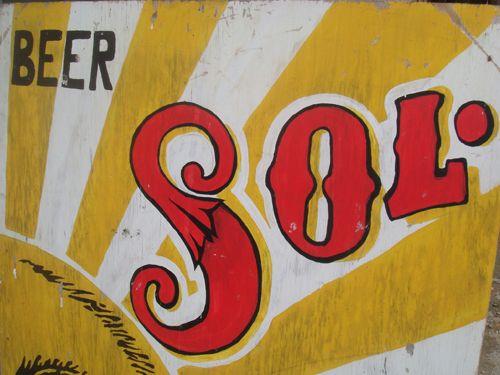 sunburst/lettering Hand-Painted Pinterest Sign fonts, Mexico