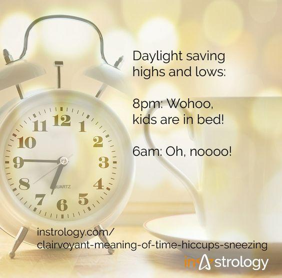 Daylight saving time march 2018