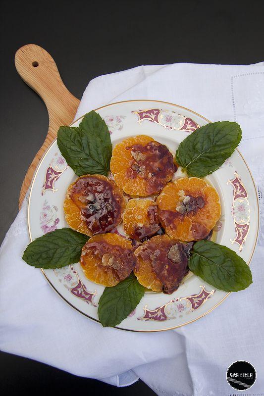 Laranja caramelizada com flôr de sal http://vidadedesempregada.blogs.sapo.pt/receitas-rapidas-laranja-caramelizada-132212