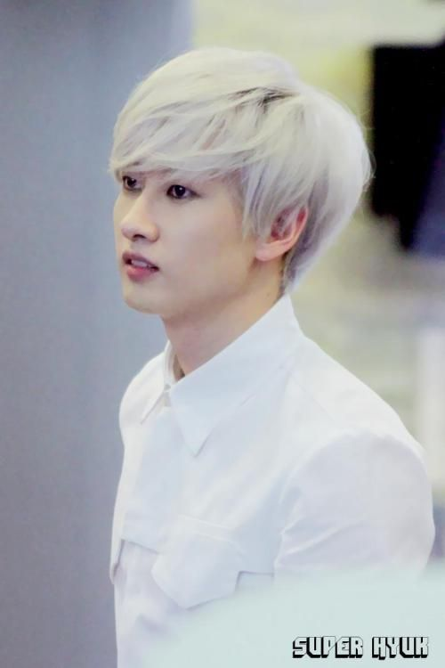 Eunhyuk - he doesn't even look real. XD