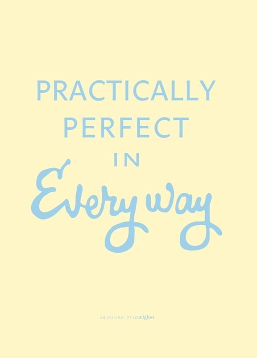 Image of PRACTICALLY PERFECT TEA TOWEL: Disney Quotes, Mary Poppins, Tea Towels, Perfect Marypoppins, Quotes Saying, Favorite Signs Quotes, Poppins Tea
