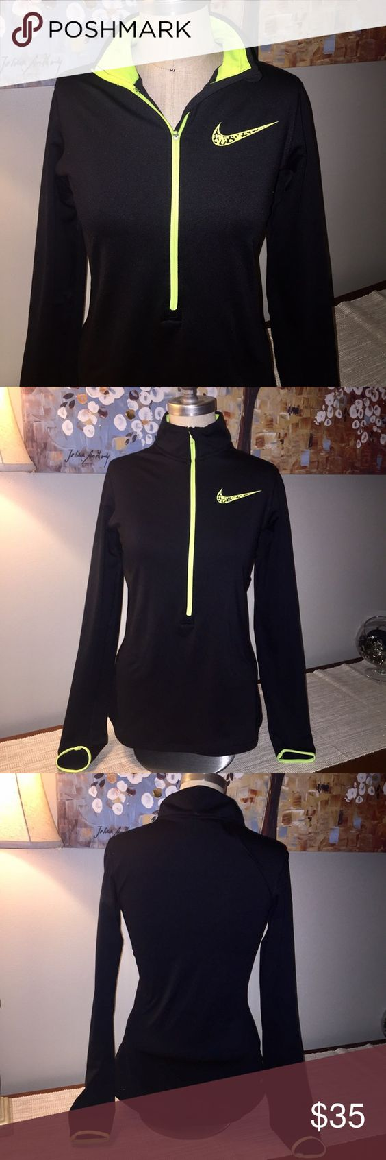 Nike half zip pullover NWOT excellent condition Nike Tops Sweatshirts & Hoodies