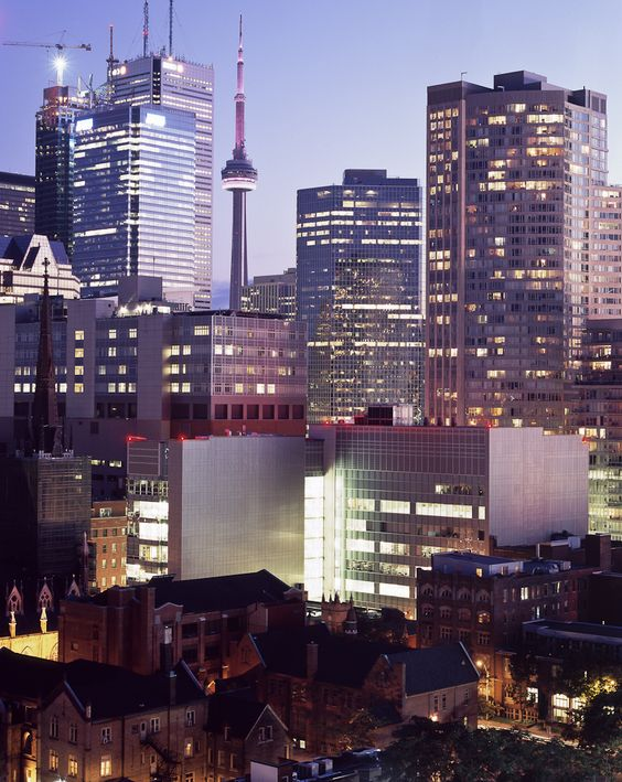 Toronto's ever changing skyline and building evolution - photographed by Sean Galbraith