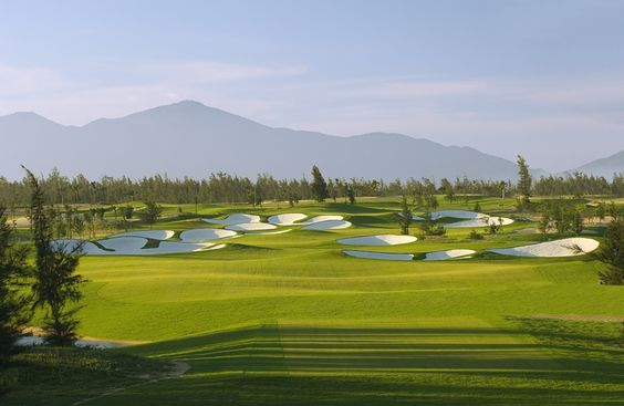 The Montgomerie links at The Nam Hai in Quang Nam Province, Vietnam.