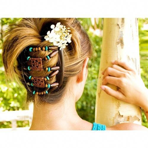 Natural Hair Accessories Hope Clips African Butterfly Hair