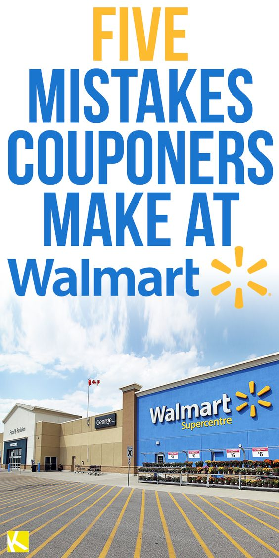 5 Mistakes Couponers Make at Walmart                                                                                                                                                      More