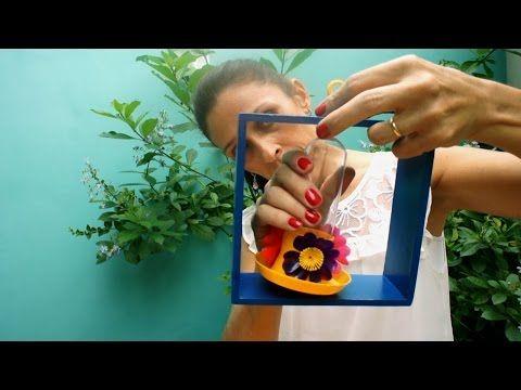 ideia criativa de mobile para varanda com bebedouro de beija flor https://www.youtube.com/watch?v=sl6Yt1TgIXg