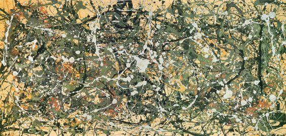 Number 8, 1949 by Jackson Pollock - Canvas, Wood, Acrylic, Aluminium - ArtToCanvas