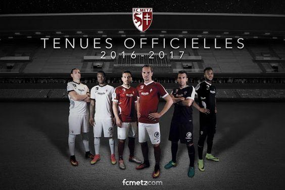 Ceci est le nouveau Maillot de foot FC Metz pas cher pour la saison 2016/2017;: