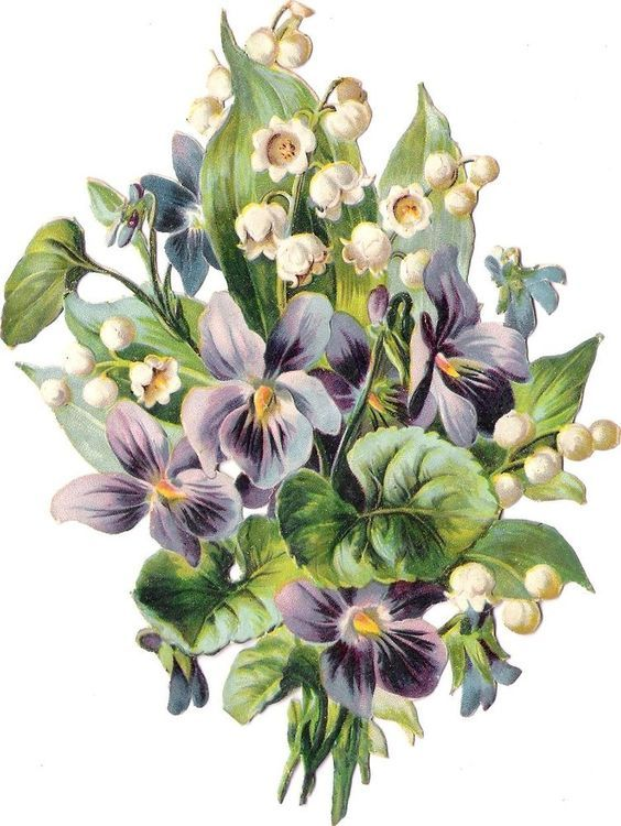 Glanzbilder - Victorian Die Cut - Victorian Scrap - Tube Victorienne - Glansbilleder - Plaatjes : Rosen und Blumen
