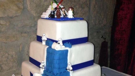 Las 10 tortas de casamiento más nerds del mundo