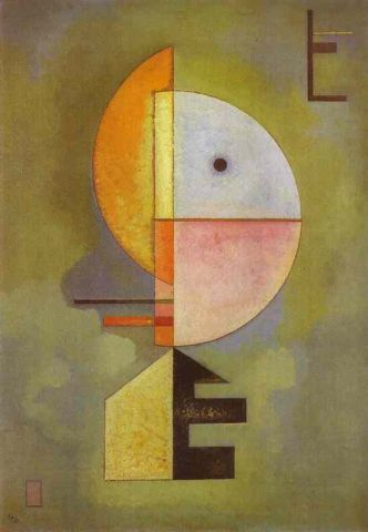wassily kandinsky,  hacia arriba 1929