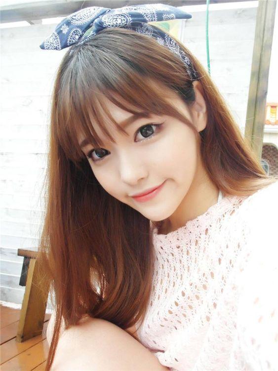 Fake Bangs Style Bangs And Korean Style On Pinterest