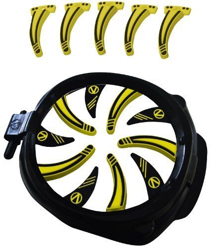 Virtue Paintball Empire Prophecy / Z2 Crown 2 Speed Feed - Yellow by Virtue. $34.95. The Crown2 is the most customizable speedfeed according to Virtue Paintball and is now available for the Empire Prophecy loaders.This crown comes with a hard plastic ring with 10 individually replaceable ultrasoft fingers.The Crown2 comes with 10 long and 5 short fingers which all clip on to the hard plastic ring.By interchanging the fingers you can speed up your feeding by addi...