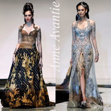 kebaya from anne avantie
