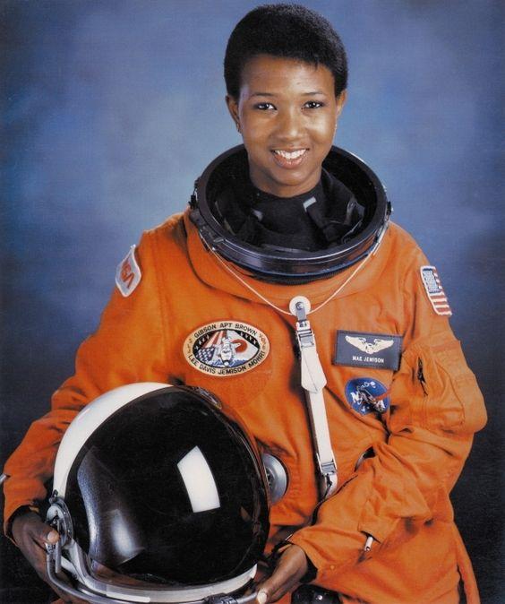 2. Mae C. Jemison (astronaut – 1956-)