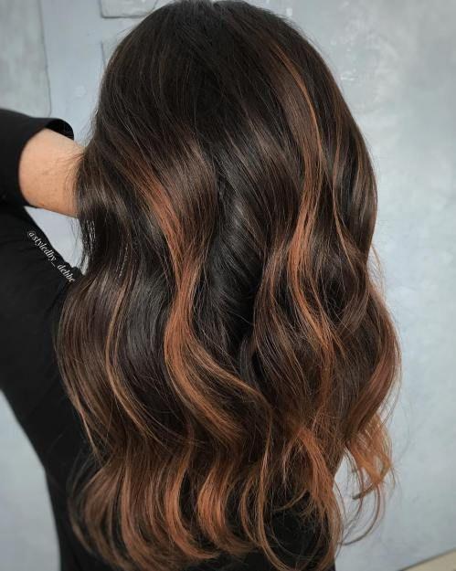 Instagram Hair Styles Hair Color Dark Hair