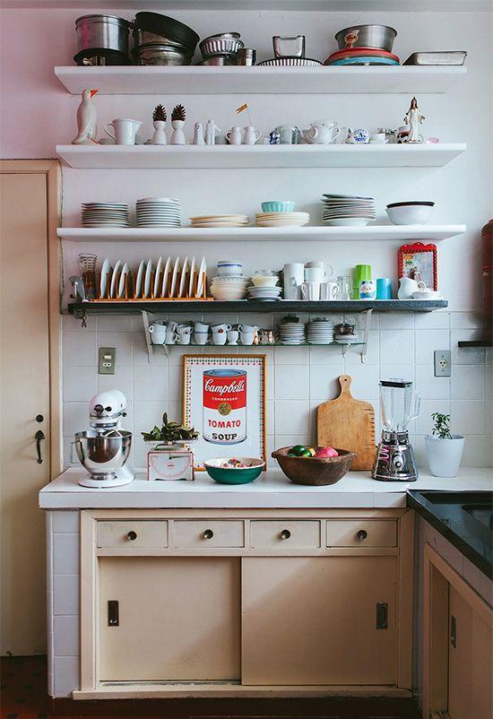 Cozinha simples e bonita de pobre
