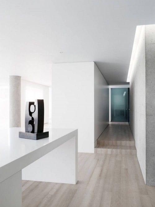 multilevel--Private Residence in San Francisco, Garcia Tamjidi Architecture Design: Interior Design, Private Residence, Living Room, Light Wood Flooring, Garcia Tamjidi, Architecture Design