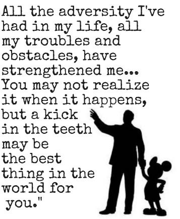 As a child, how did Disney impact you?