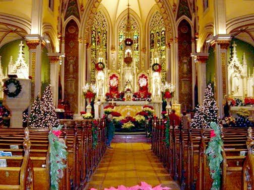christmas at church cathedral flowers pinterest churches - Christmas Church Decorations