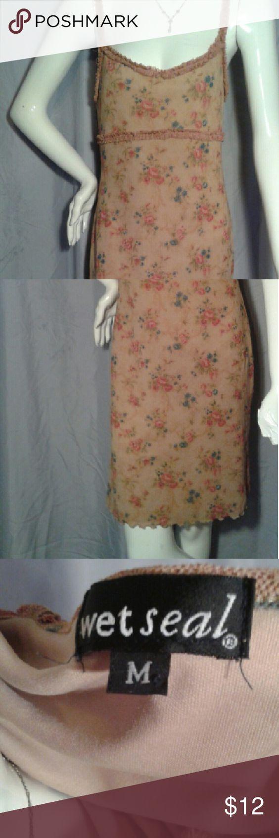Wet Seal Dress Cute floral dress, feminine and comfortable Wet Seal Dresses