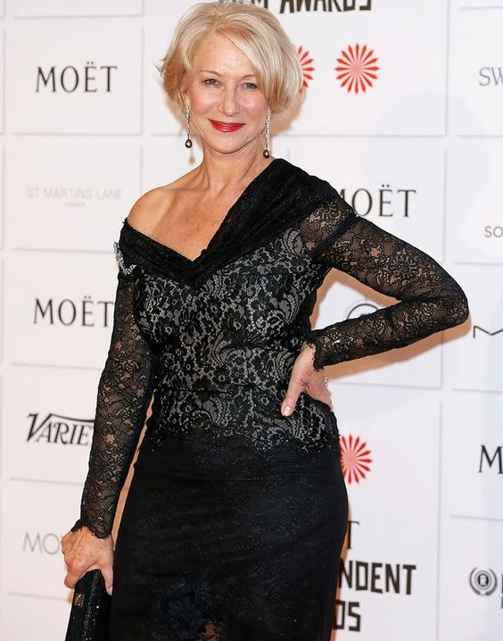 Helen Mirren attends The Moet British Independent Film Awards at Old Billingsgate Market: