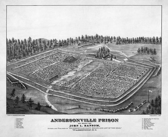 Andersonville Prison - American Civil War prison camps - Wikipedia, the free encyclopedia