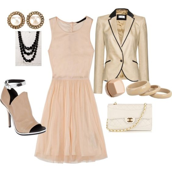 An elegant evening out!, created by ellyn-walker-pickett on Polyvore