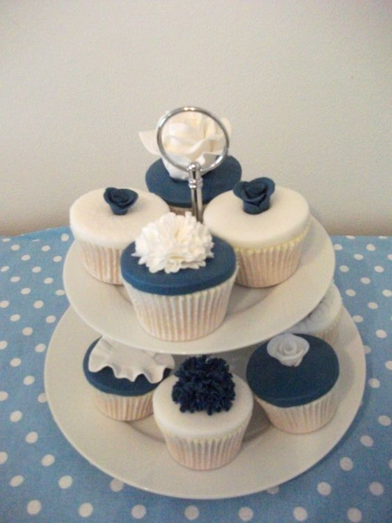 Wedding consultation-navy and white designs.