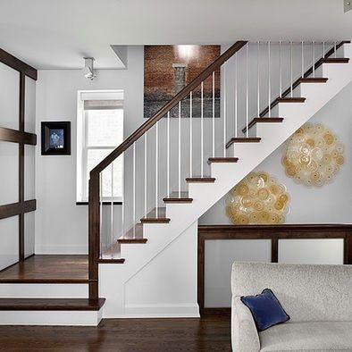 Open basement staircase open staircase design to go into for Open staircase