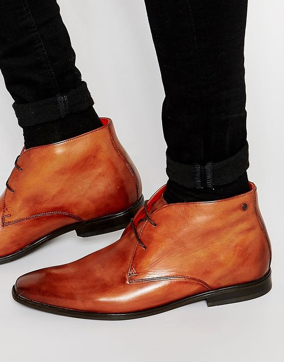 Base+London+Henry+Leather+Chukka+Boots