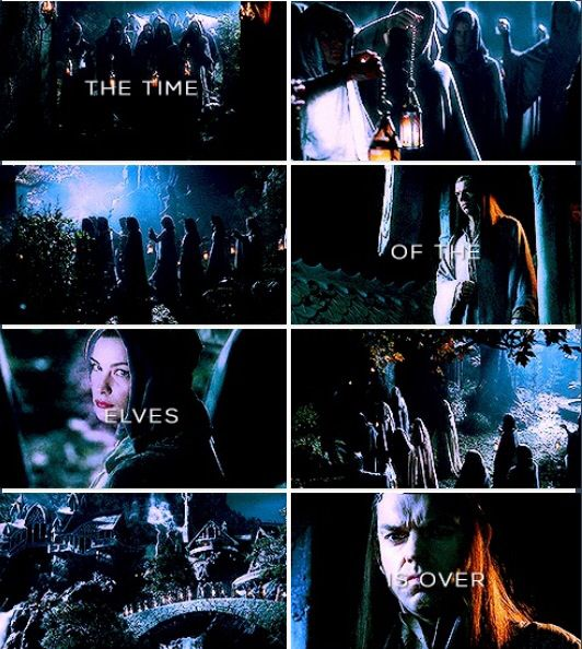 """""""The time of the Elves is over"""""""