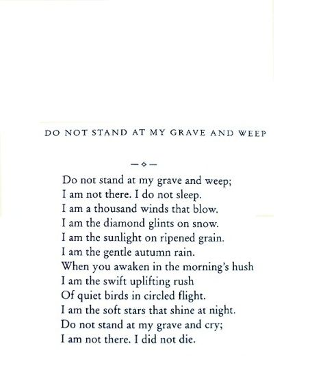 I have to write an essay on this poem. Could you help me please?