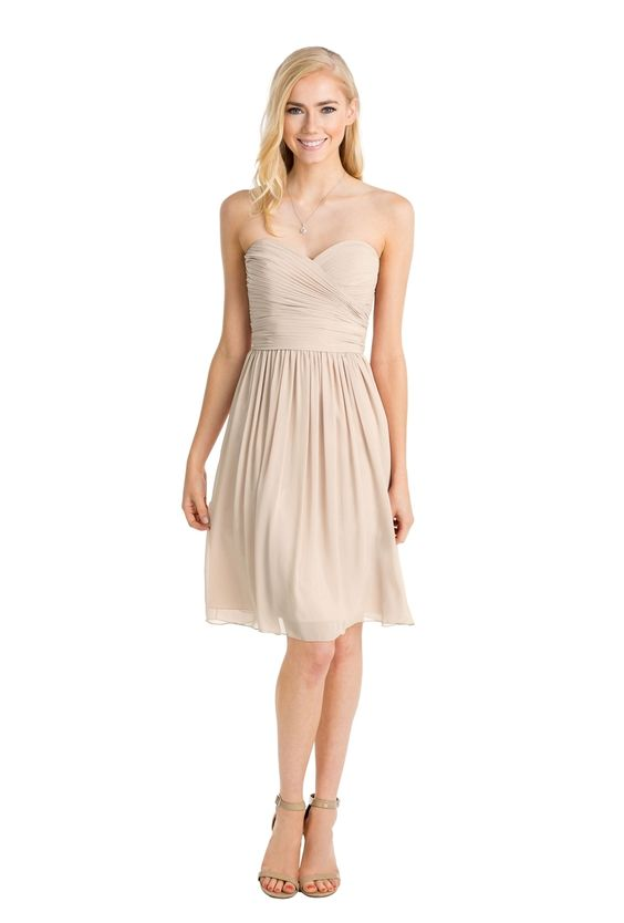 Watters bridesmaid dress for a simple chic wedding. Rent this dress for Vow To Be Chic!