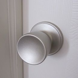 paint your door knobs