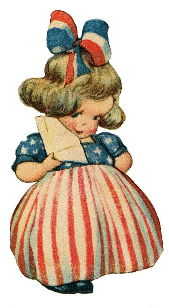 Girls on Pinterest Vintage Americana Graphics