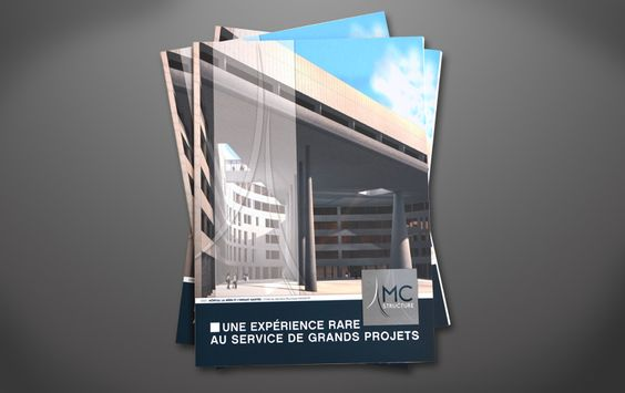 Pochette rabat bureau d 39 tude architecte plaquettes pinterest d bureaus and presentation - Architecte bureau d etude ...